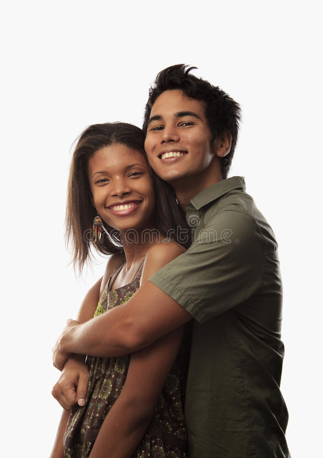 Free Portrait Of A Young Mixed Couple Stock Photos - 15037793