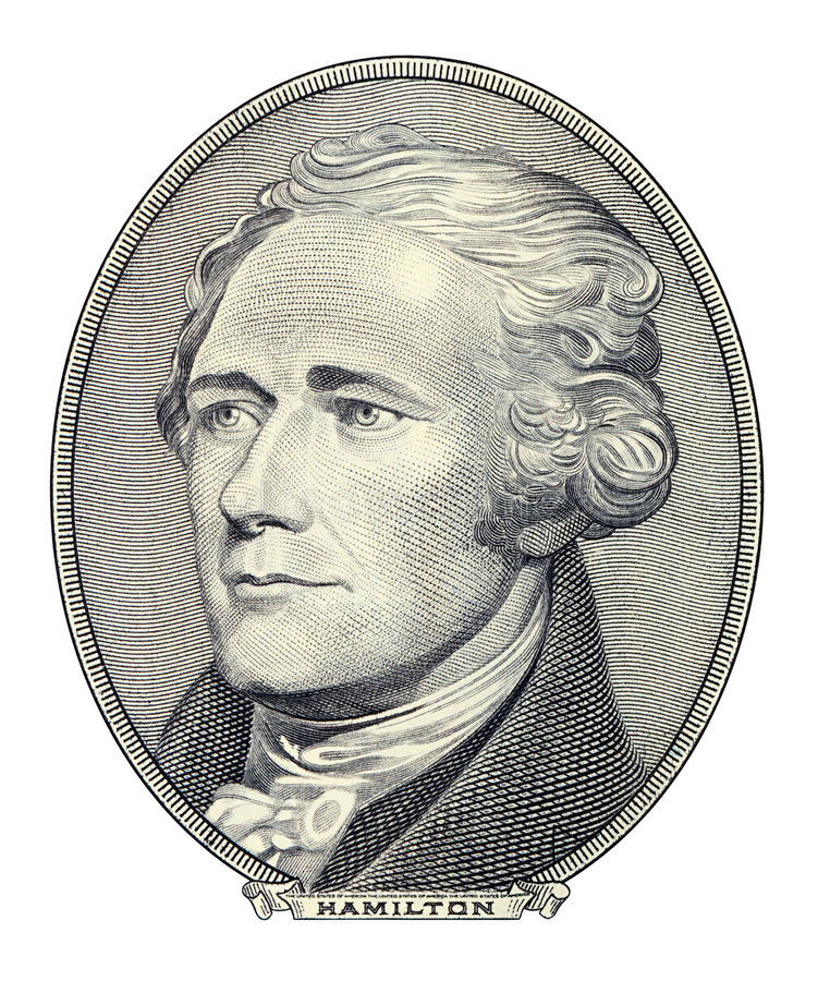 Free Portrait Of Alexander Hamilton Royalty Free Stock Photography - 3631657