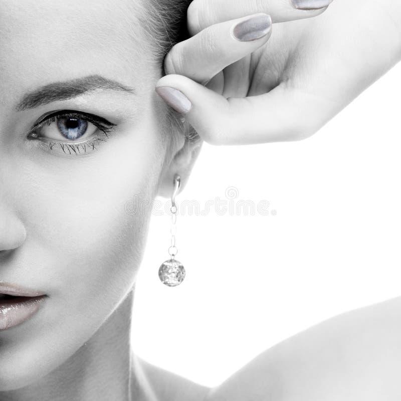 Free Portrait Of Beautiful Model Stock Image - 10869641