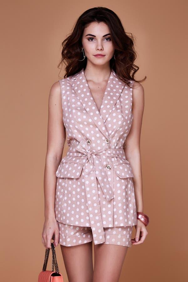 Free Portrait Of Beautiful Pretty Woman Perfect Face Organic Mak Royalty Free Stock Photo - 90555235