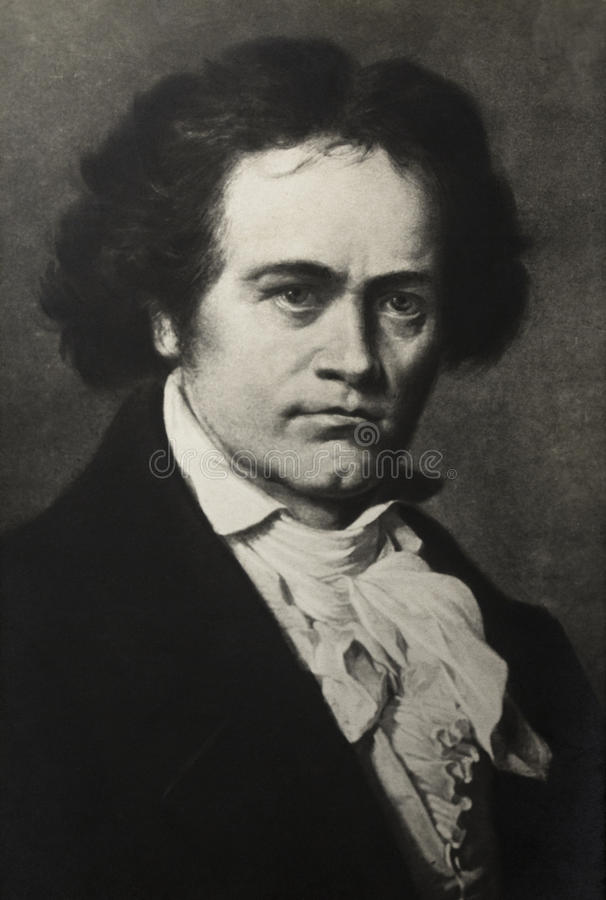 Free Portrait Of Composer Ludwig Van Beethoven Royalty Free Stock Photography - 48941627