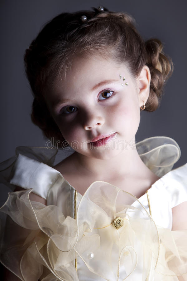 Free Portrait Of Cute Little Girl Royalty Free Stock Photos - 22331768