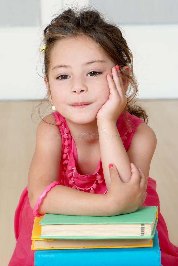 Free Portrait Of Emotional Little Girl Stock Photo - 9067420