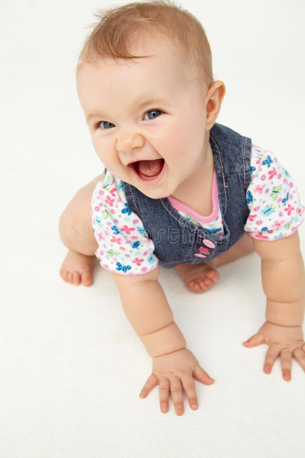 Free Portrait Of Happy Baby Laughting Royalty Free Stock Photo - 19907665