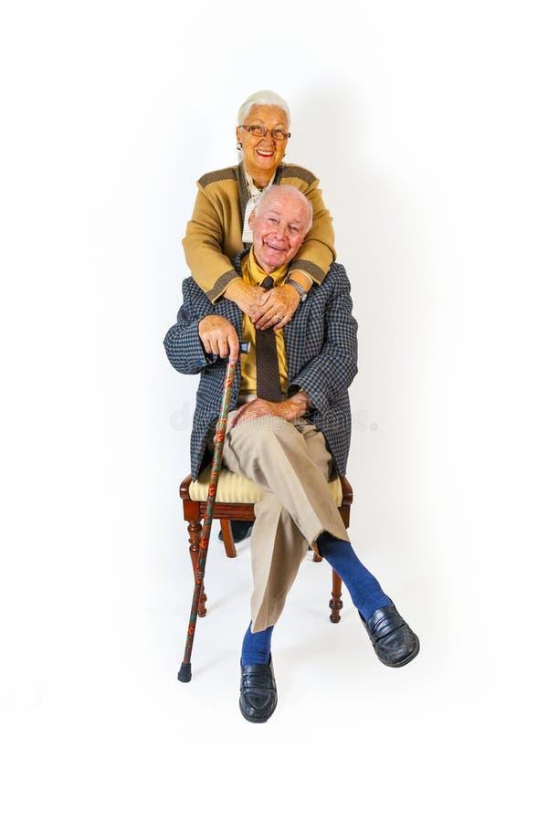 Free Portrait Of Happy Elderly Senior Royalty Free Stock Photos - 34842108