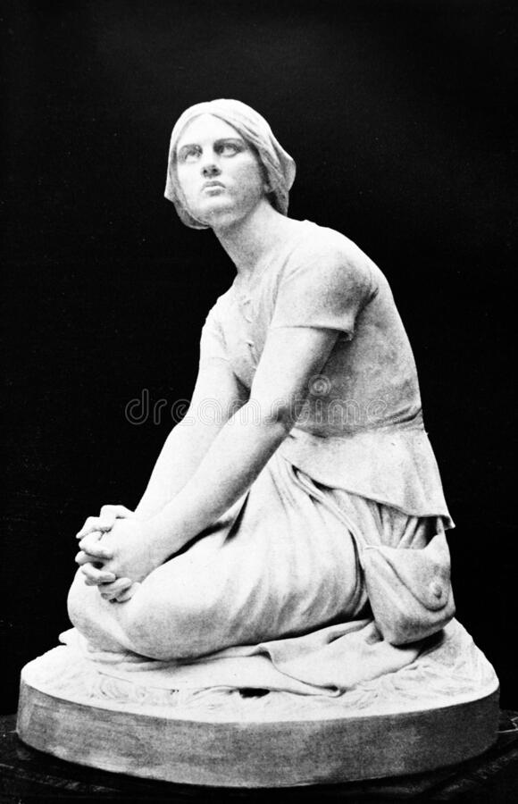 Free Portrait Of Joan Of Arc, A Heroine Of France In The Old Book From The World History, By M.N. Petrov, 1896, St. Petersburg Royalty Free Stock Photography - 180155587