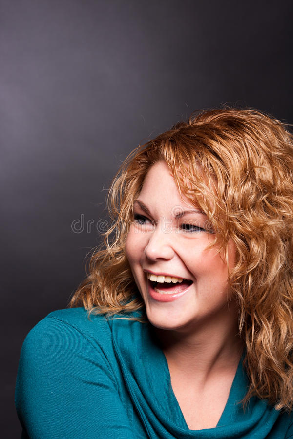 Free Portrait Of Laughting Woman Stock Photography - 17790522
