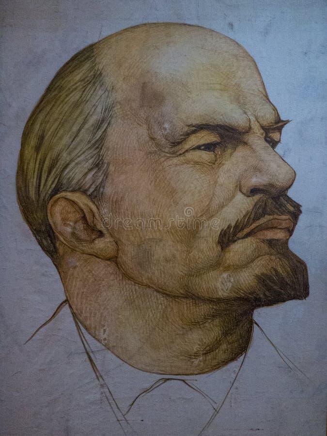 Free Portrait Of Lenin Royalty Free Stock Photography - 80204917