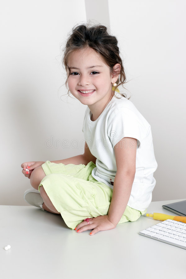 Free Portrait Of Little Girl Stock Photography - 8623072