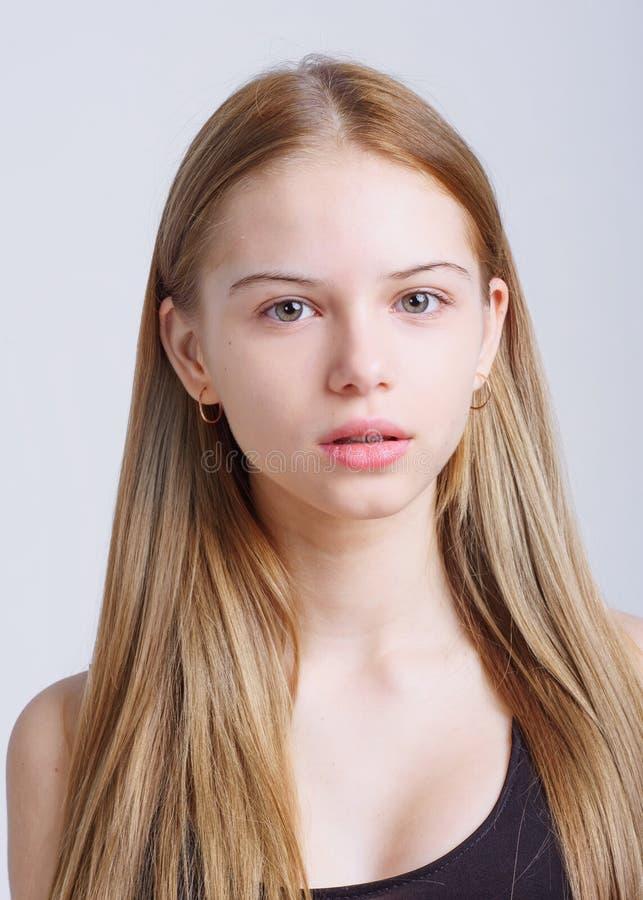 Free Portrait Of Little Model Girl Stock Photography - 139325272