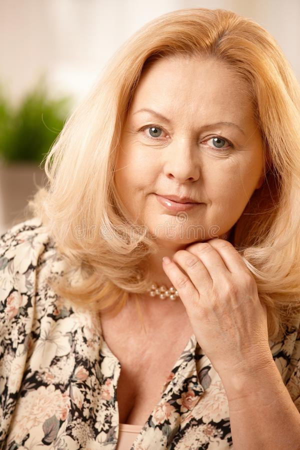 Free Portrait Of Mature Woman Royalty Free Stock Image - 16501746