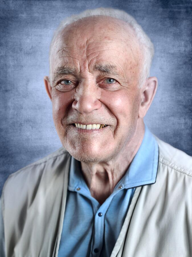 Free Portrait Of Senior Man Stock Photography - 217968392