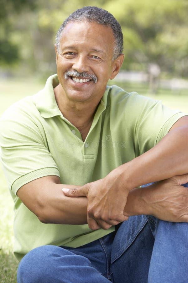 Free Portrait Of Senior Man In Park Stock Photos - 12404553
