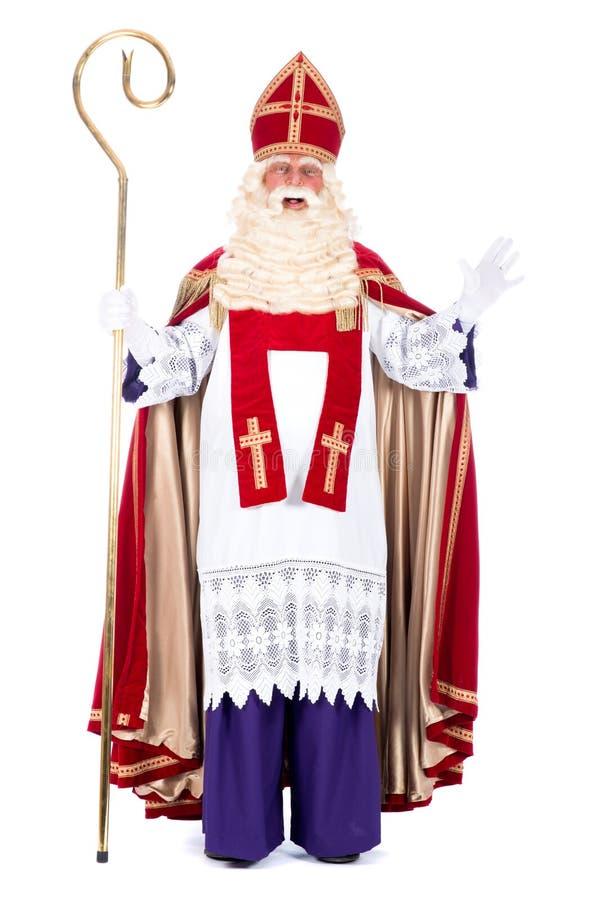 Free Portrait Of Sinterklaas Stock Images - 34101494