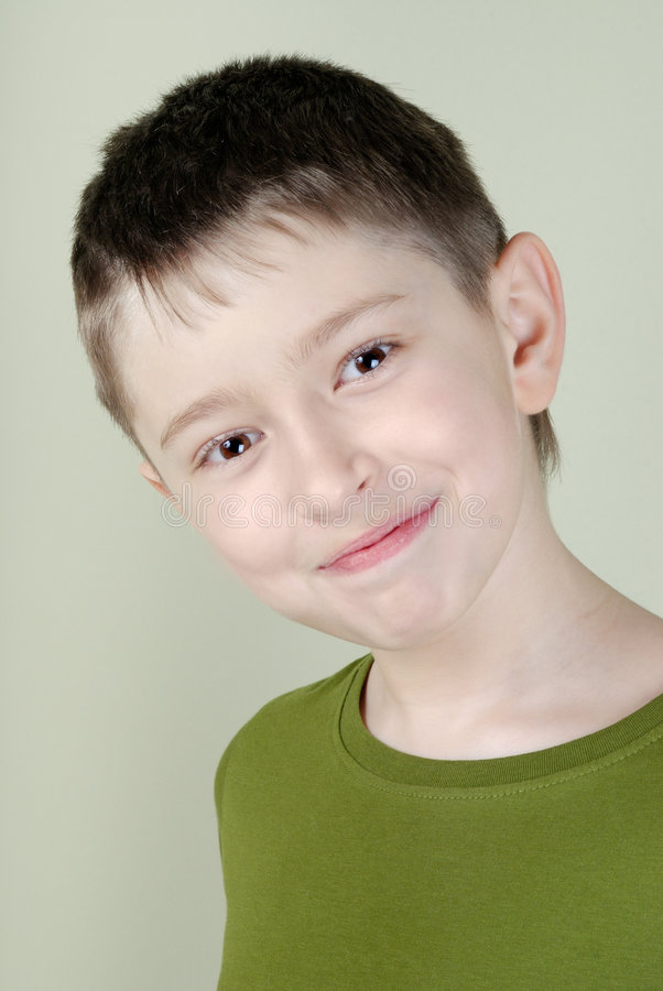 Free Portrait Of Smiling Boy Stock Photography - 8298492