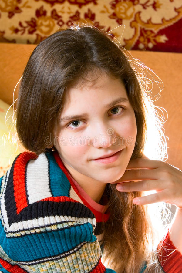 Free Portrait Of Teen Girl Royalty Free Stock Photography - 12382097