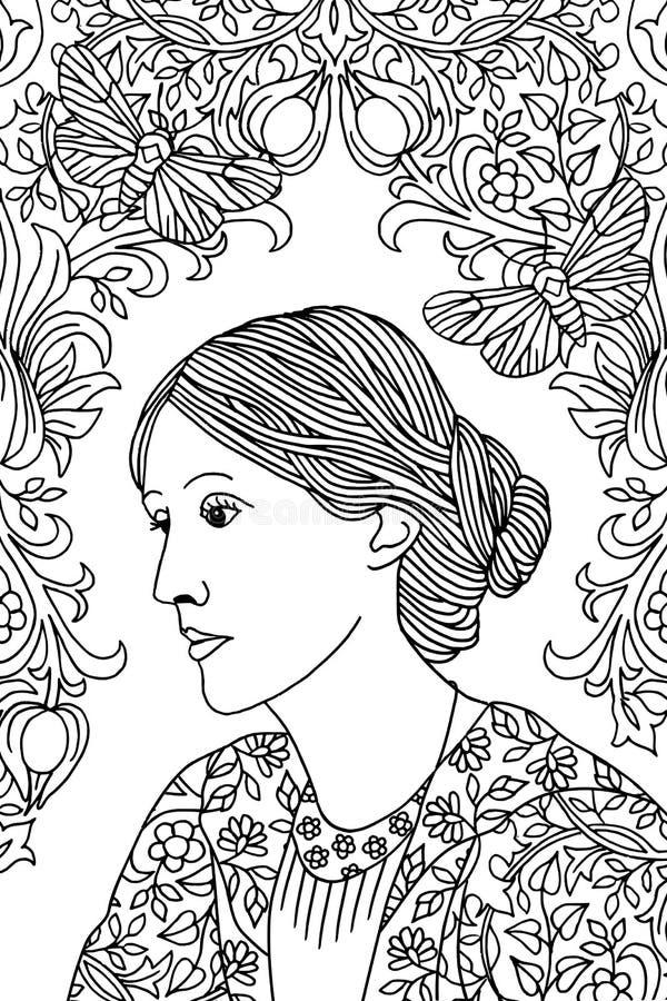 Free Portrait Of Virginia Woolf Stock Photo - 80972330