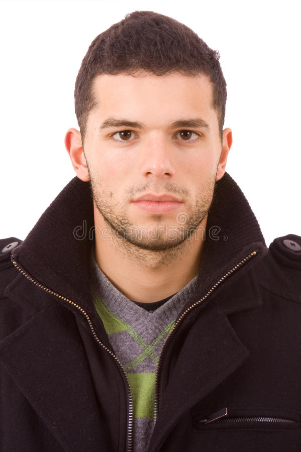 Free Portrait Of Young Casual Man Stock Photography - 12520412