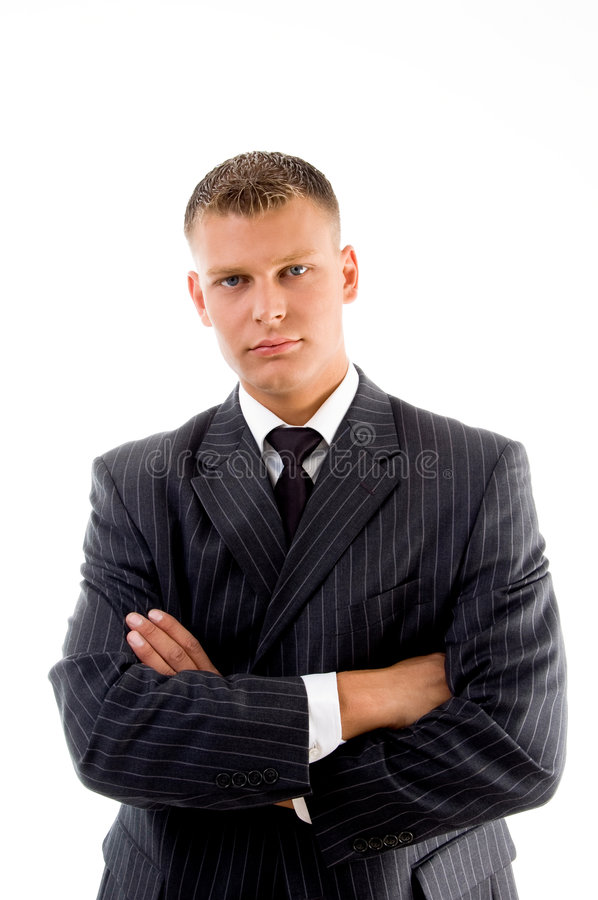 Free Portrait Of Young Ceo With Crossed Arms Royalty Free Stock Photo - 7525265
