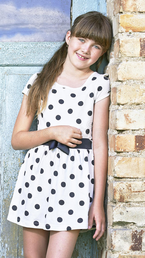 Free Portrait Of Young Girl Royalty Free Stock Photo - 47088895