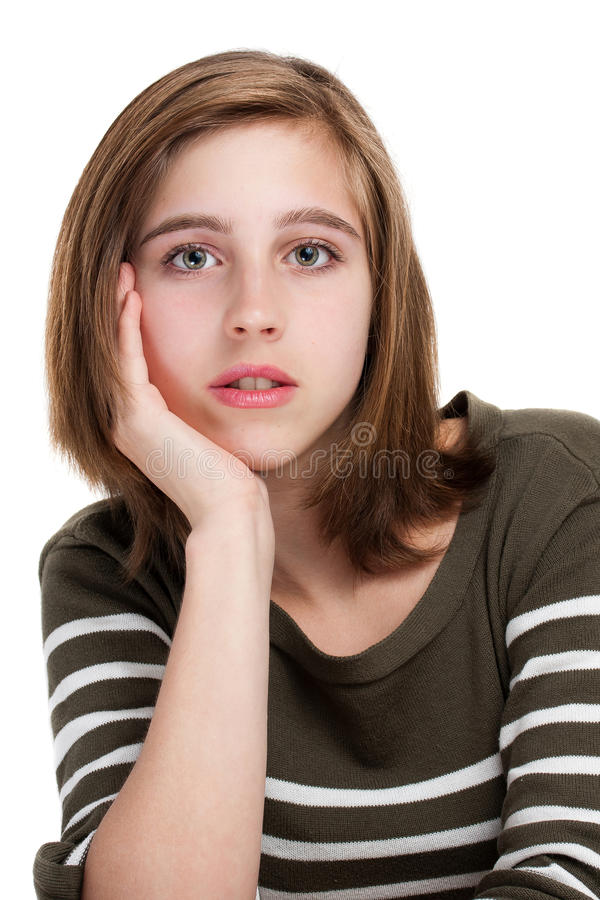 Free Portrait Of Young Teen Girl Royalty Free Stock Photo - 21502425