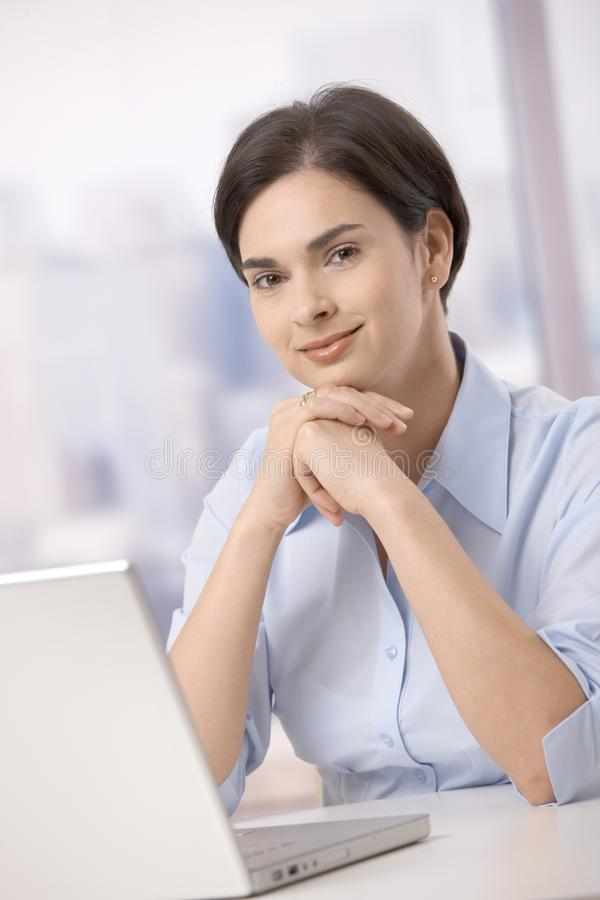 Portrait Of Office Worker Royalty Free Stock Photo