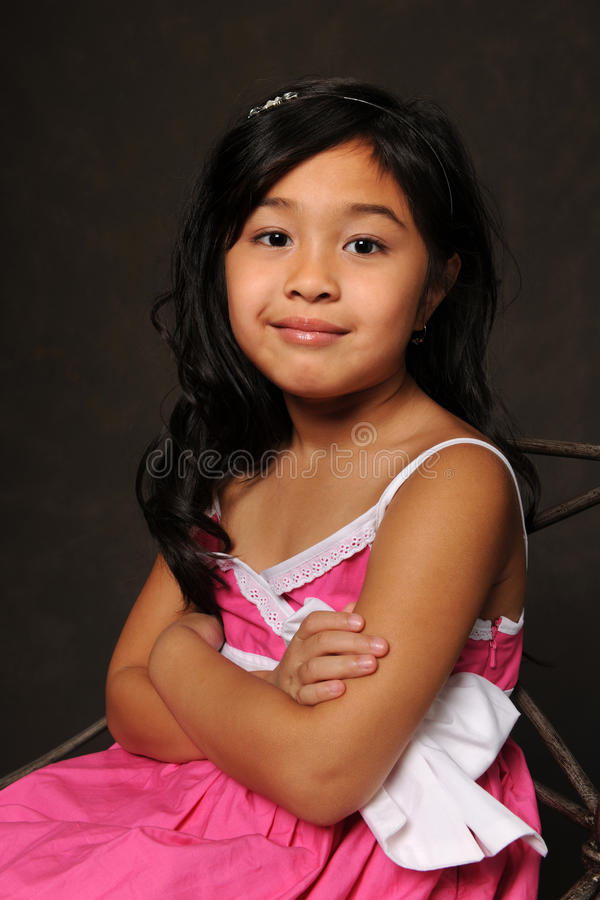 Portrait oy Young Girl royalty free stock photos