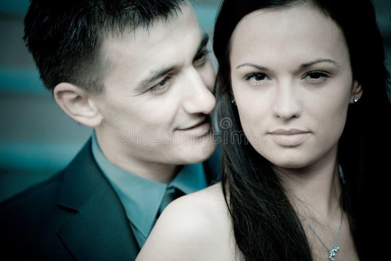 Portrait: Paare stockfoto