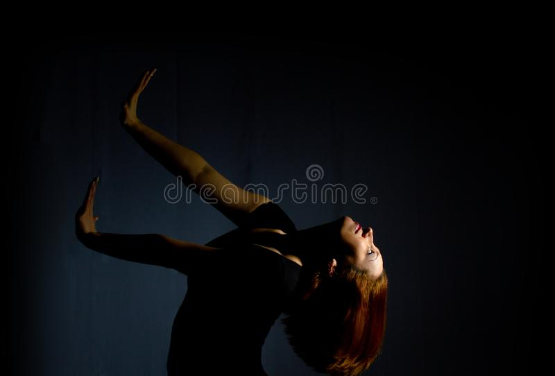 Passionate beautiful adult woman royalty free stock image