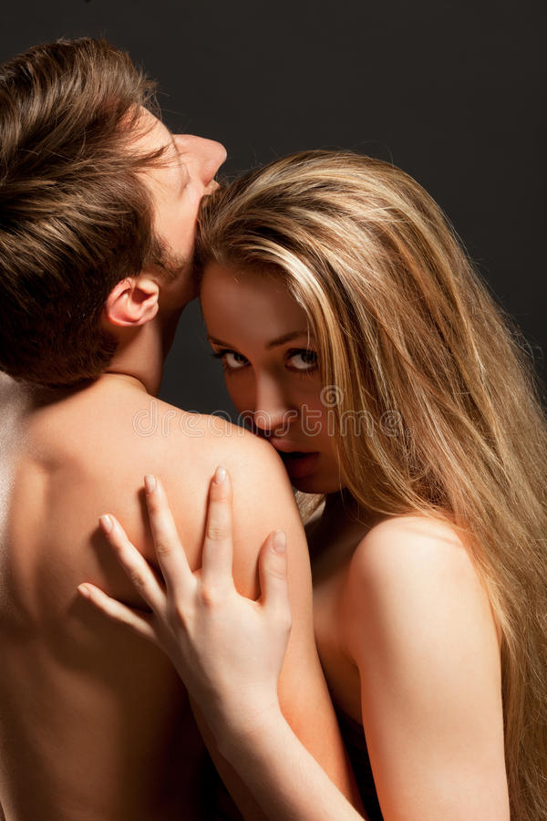 Download Portrait Of A Passionate Couple Stock Image - Image: 24306179