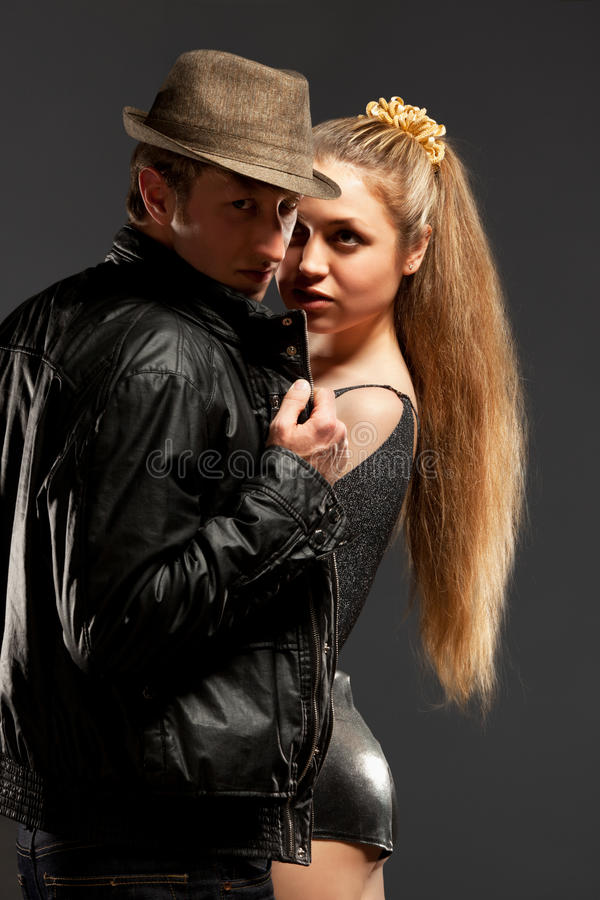 Download Portrait Of A Passionate Couple Stock Photo - Image: 24316768
