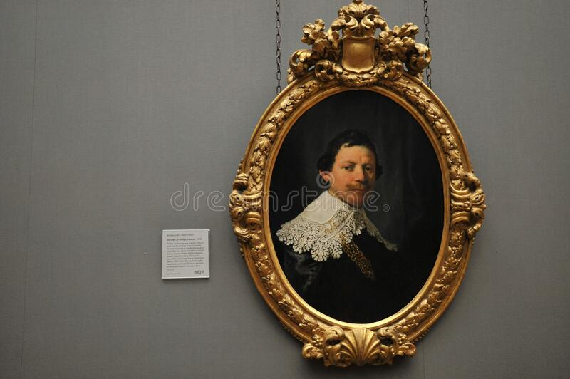 Rembrandt The Officials Large Backpack