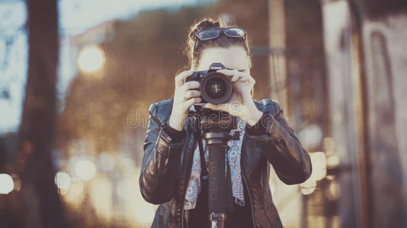 Portrait Of Photographer Outdoors Free Public Domain Cc0 Image