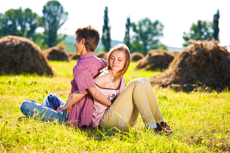 Download Portrait Of Playful Young Love Couple Having Fun Stock Image - Image: 30980273