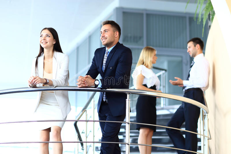 Download Portrait Of Positive Business Group Standing Stock Photo - Image: 32942618
