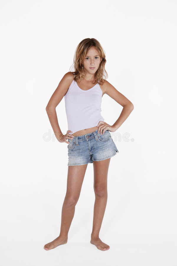 Girls teen thumbs model last