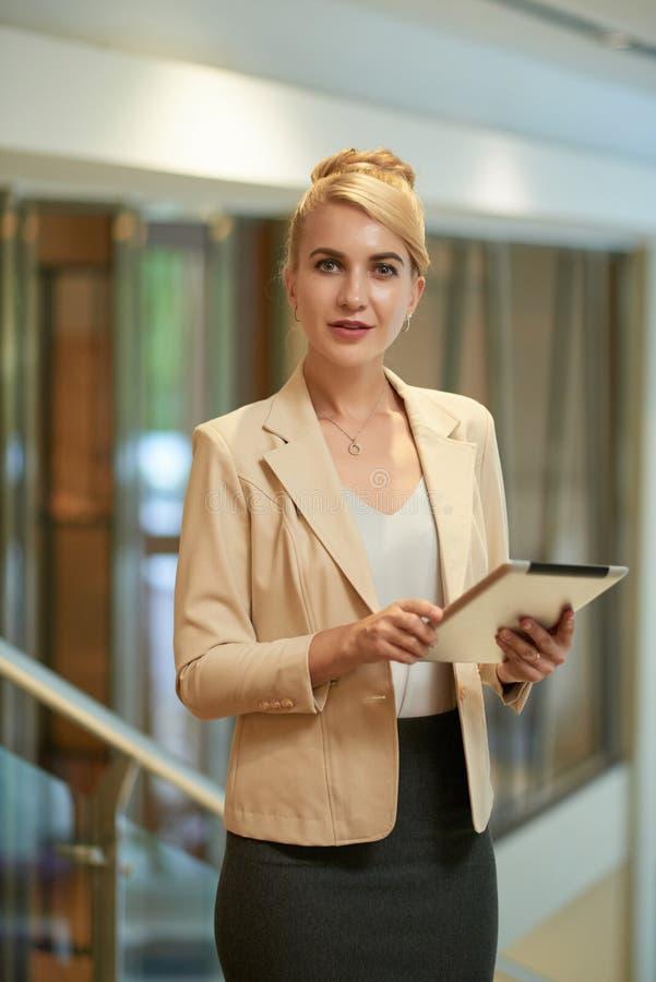 Elegant business woman stock photos