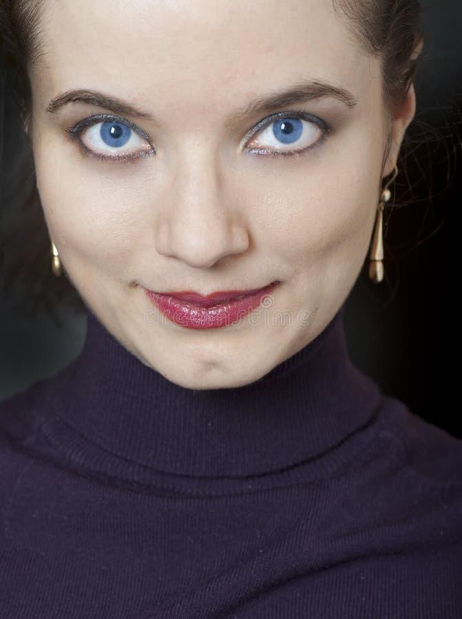 Portrait of a pretty girl stock photos