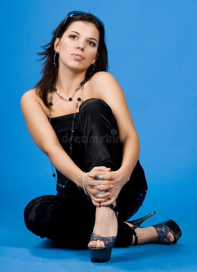 Portrait of pretty girl royalty free stock photo