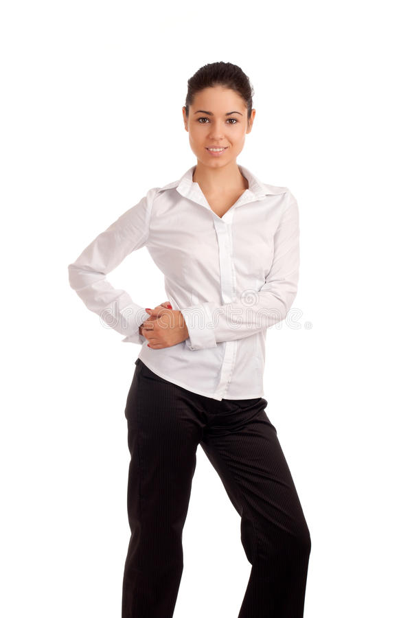 Download Portrait Of A Pretty Young Businesswoman Stock Photo - Image: 29702718