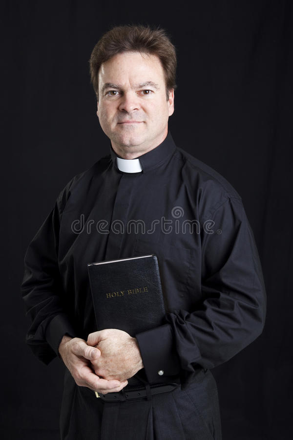 Download Portrait of a Priest stock image. Image of religious - 17030505