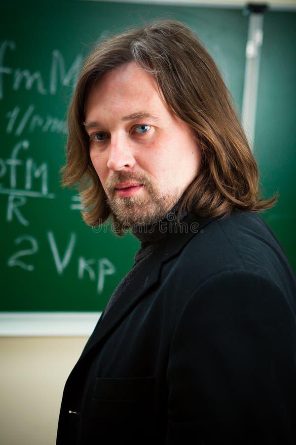 Portrait of professor royalty free stock photos