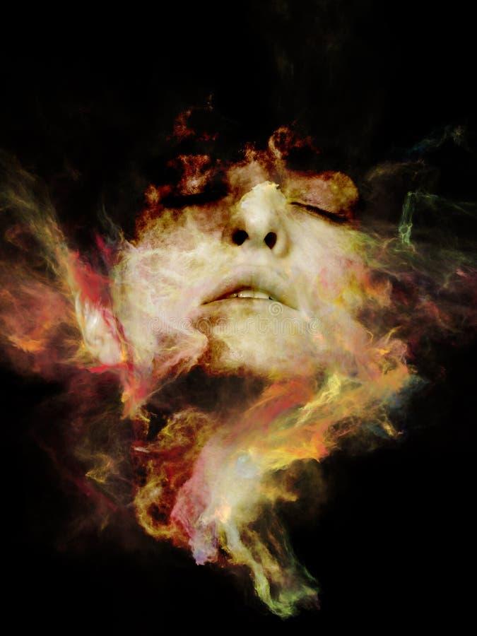 Portrait rêveur illustration libre de droits