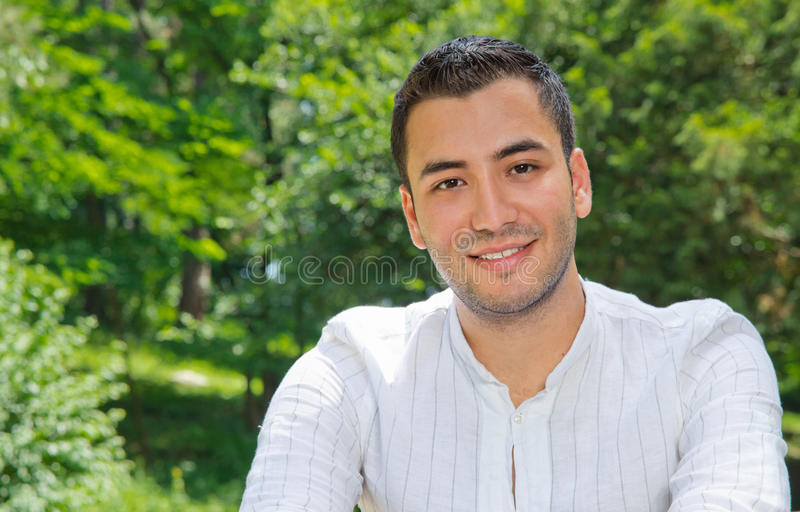 Download Portrait Of Relaxing Man Royalty Free Stock Photos - Image: 26048518