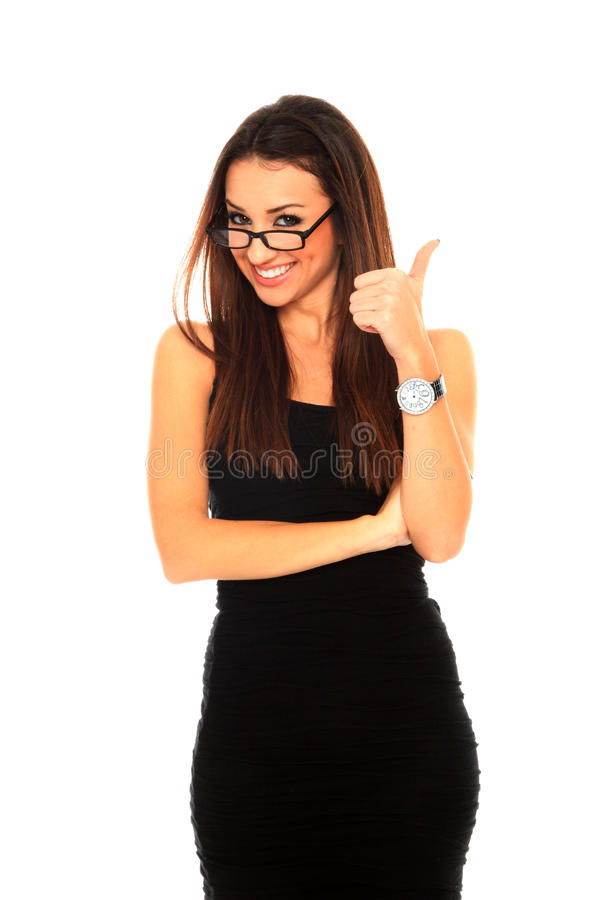 Portrait Of S Young Successful Business Woman Stock Photos