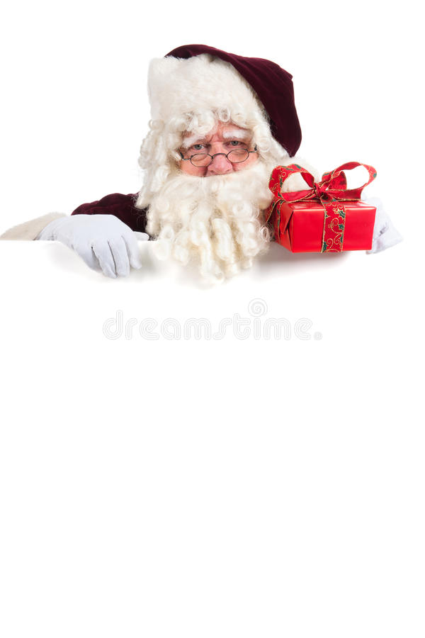 Download Portrait Santa Claus stock photo. Image of adult, holiday - 27647734