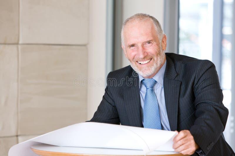 Download Portrait Of Senior Architect Stock Photo - Image: 8695496