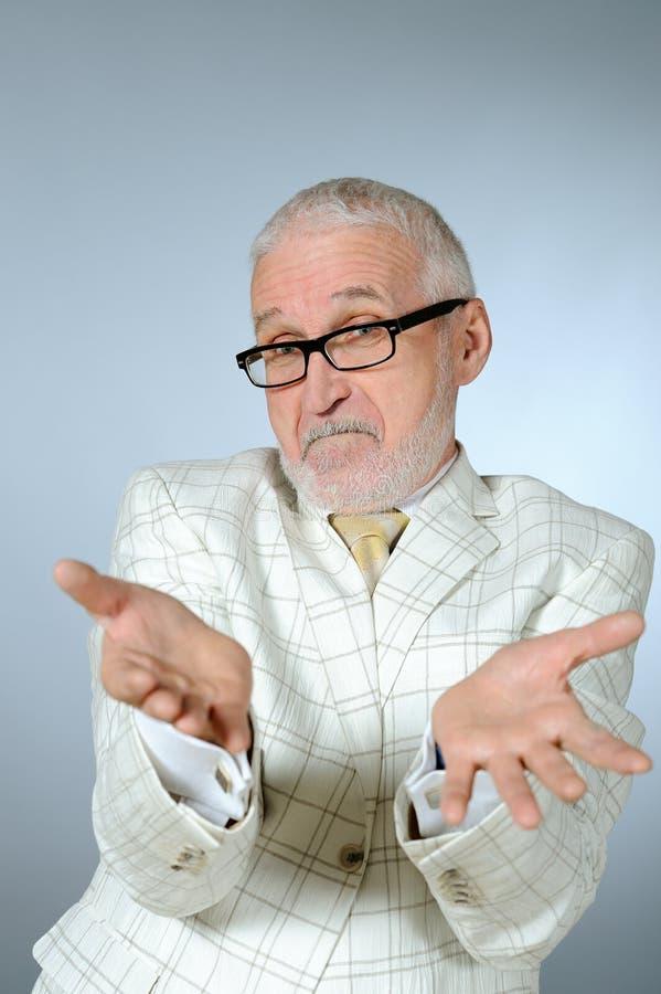 Portrait Of Senior Businessman Stock Photo