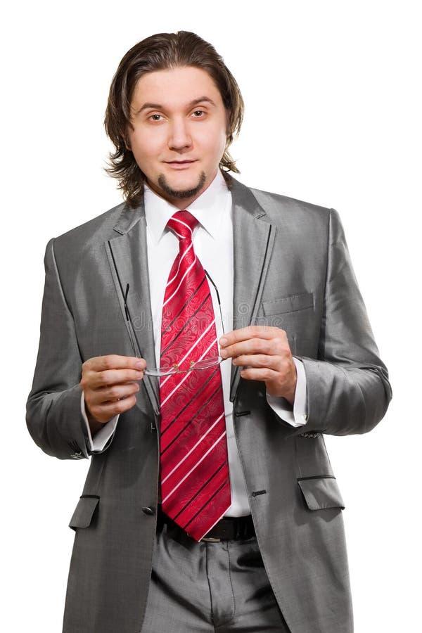 Portrait Of A Senior Businessman Smiling Royalty Free Stock Photo