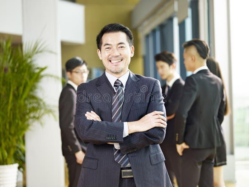 Portrait of a senior coporate executive stock photos